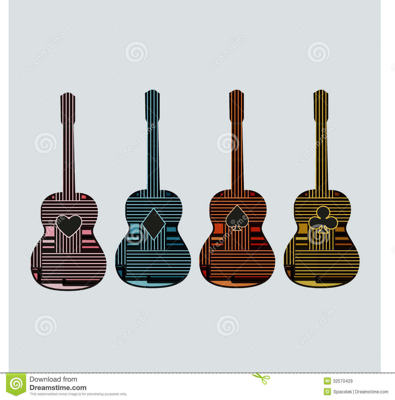 guitar graphic art6 royalty free stock images image