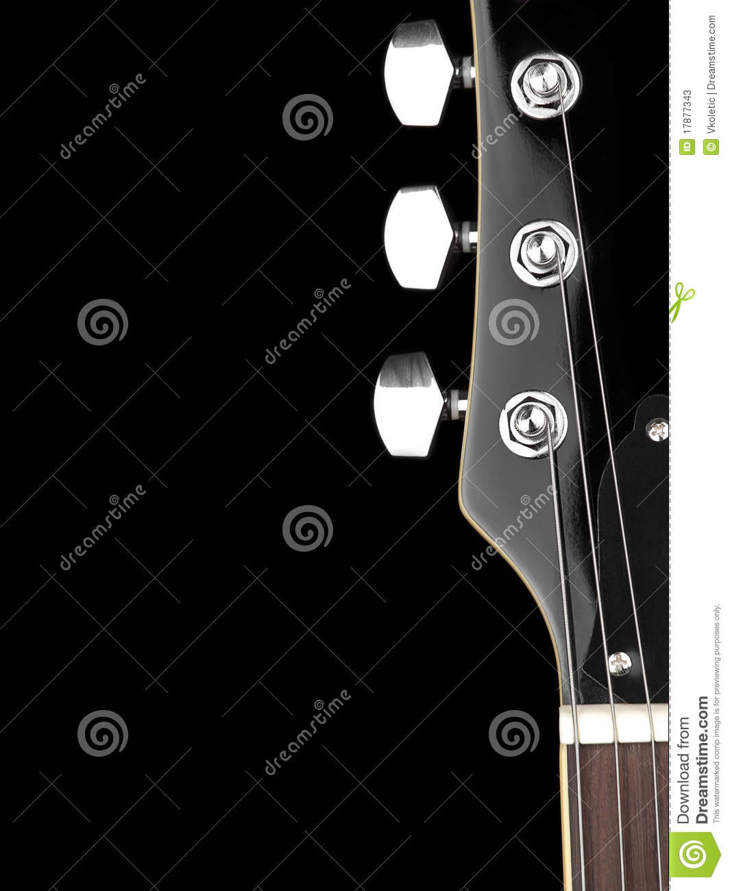 Download Guitar neck stock image. Image of musical, acoustic, electric - 17877343