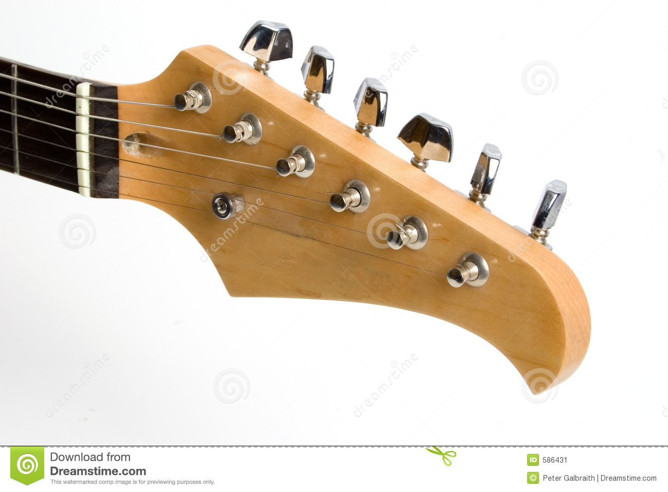 Download Guitar neck stock image. Image of guitar, musician, play - 586431