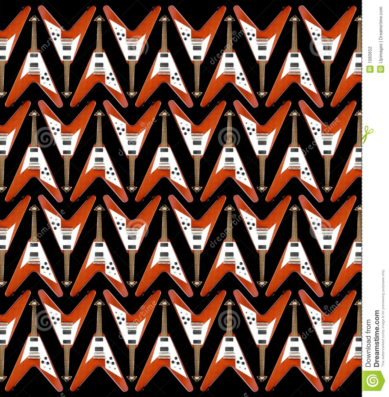 Electric Guitar Pattern Guitar Pattern Wallpaper