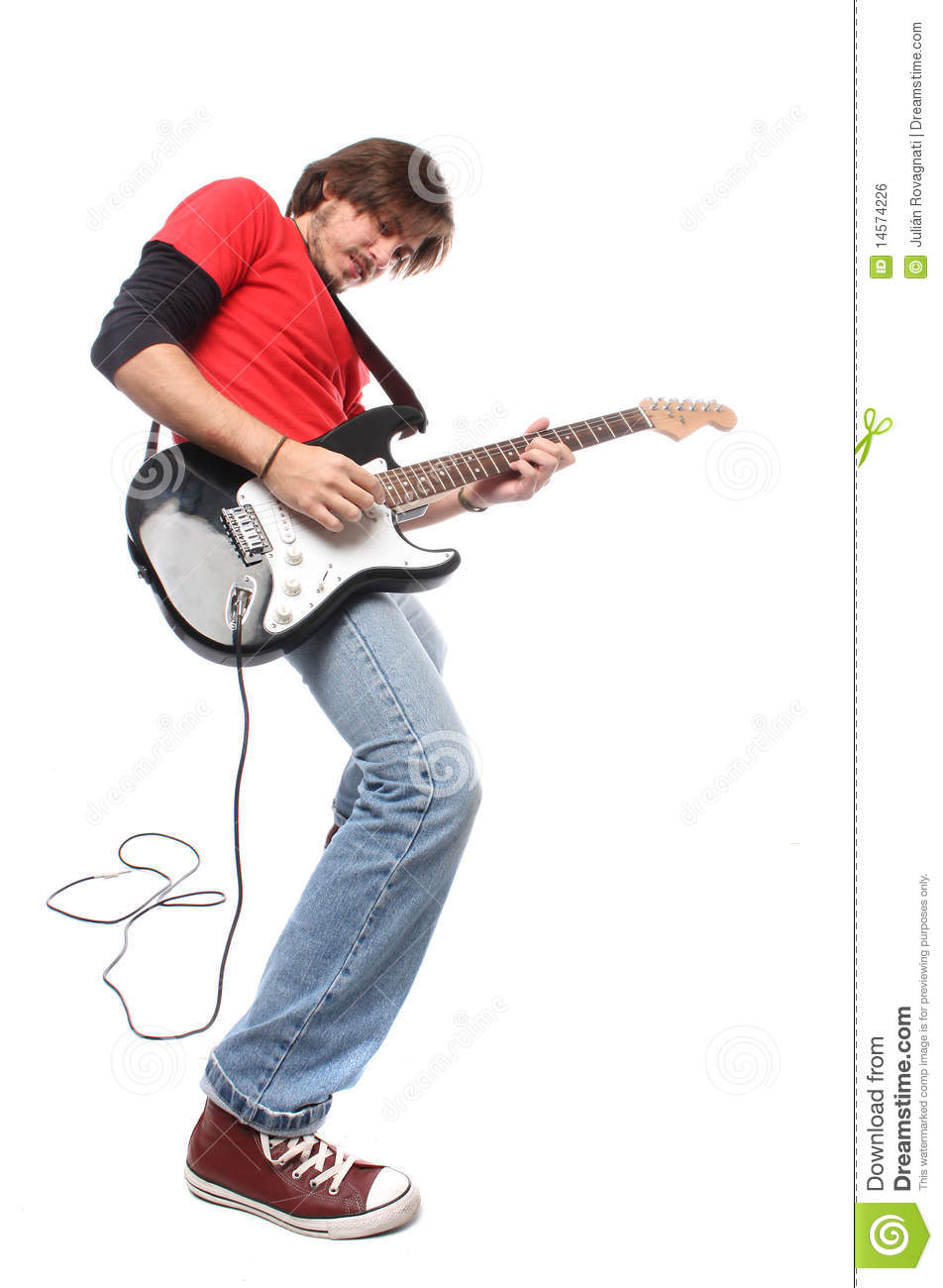 Guitar Player Royalty Free Stock Image - Image: 14574226
