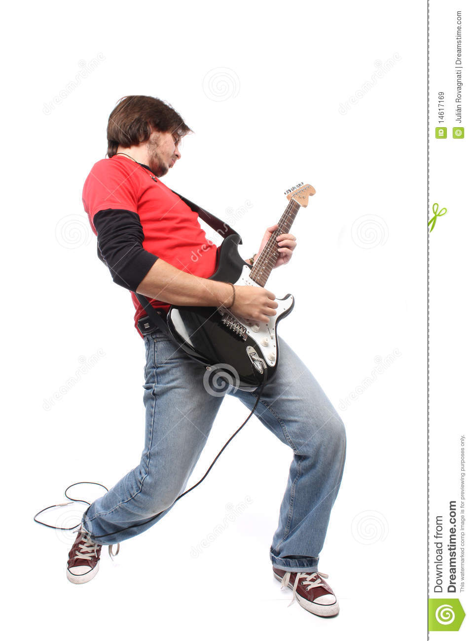 Guitar Player Royalty Free Stock Images - Image: 14617169