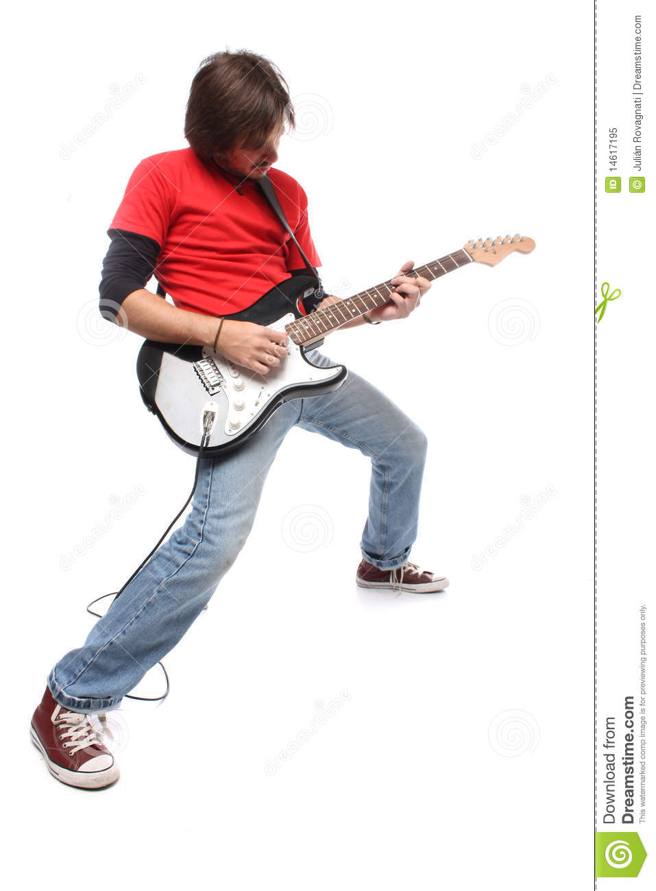 Guitar Player Royalty Free Stock Photo - Image: 14617195