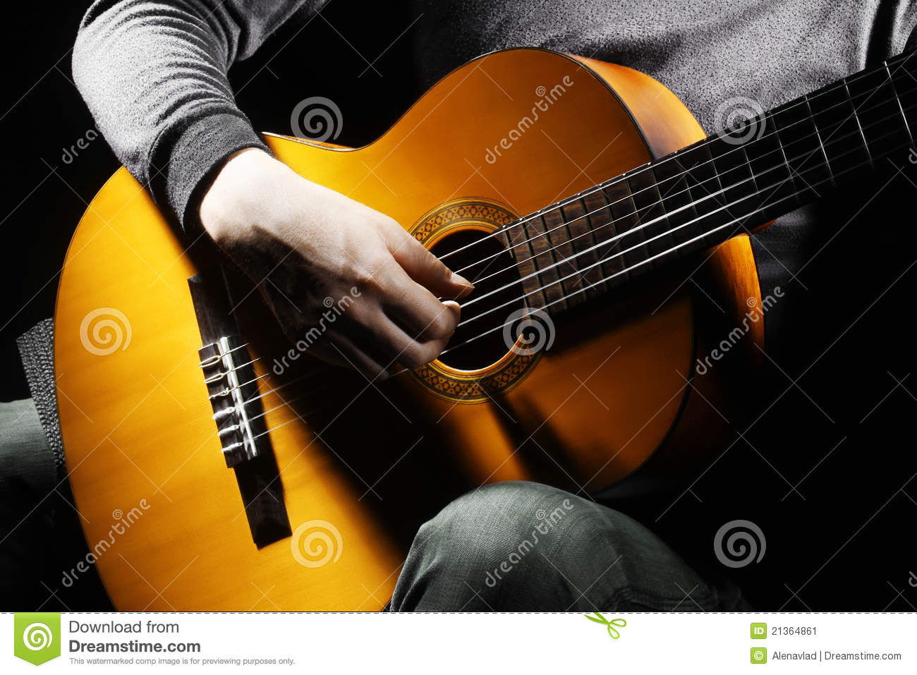 guitar player stock image image of board close entertainmant 21364861. Black Bedroom Furniture Sets. Home Design Ideas