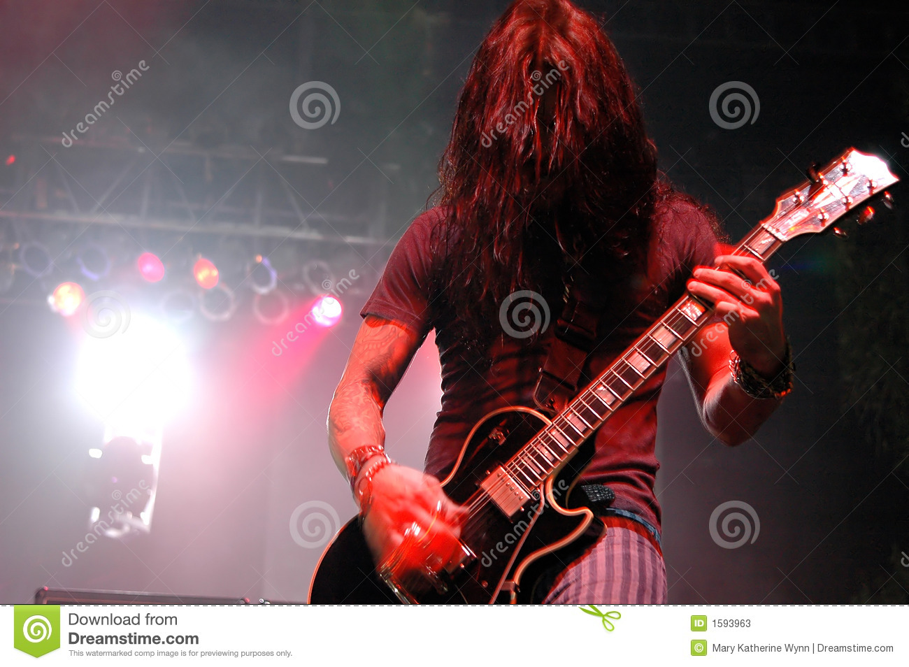 Guitar Solo Stock Photos - Image: 1593963