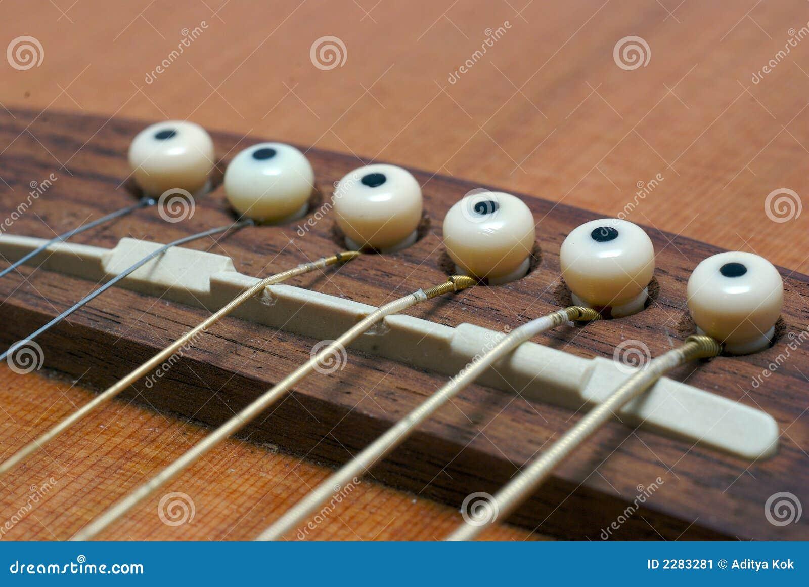 guitar strings stock image image 2283281. Black Bedroom Furniture Sets. Home Design Ideas