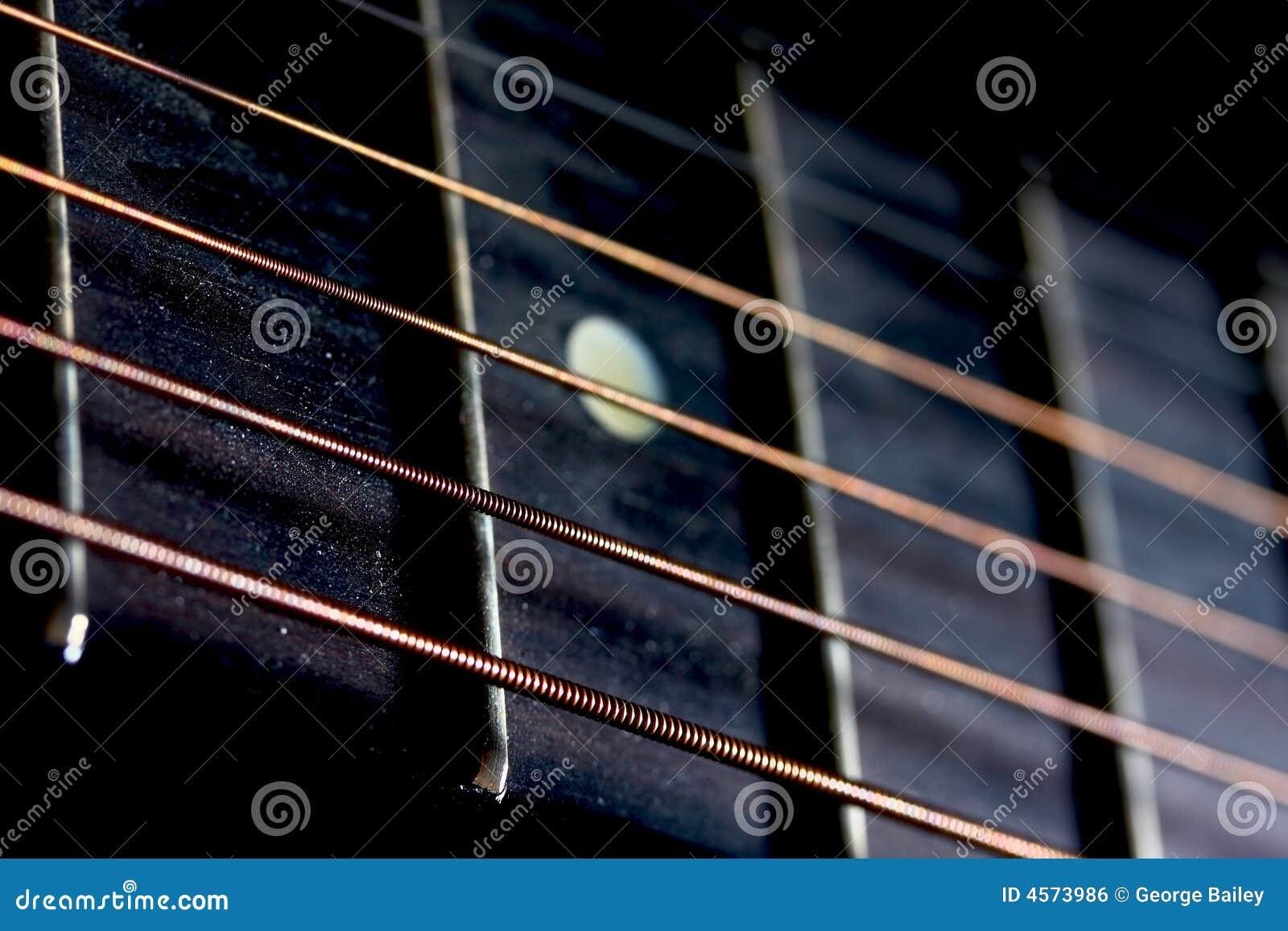 guitar strings and frets stock photo image of black blur 4573986. Black Bedroom Furniture Sets. Home Design Ideas