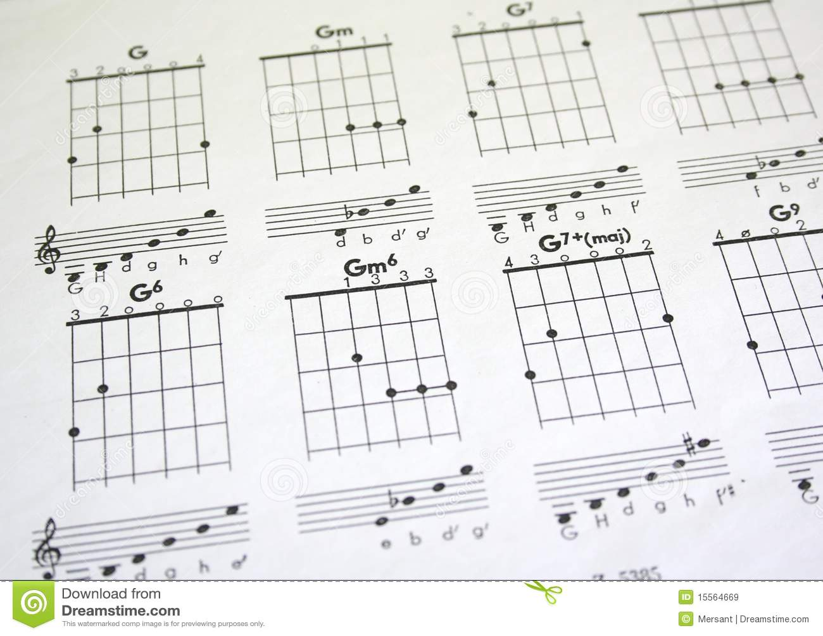 Guitar Tab Stock Image Image Of Note Play Macros Symbol 15564669