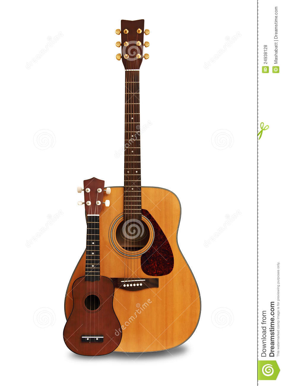 Ukulele Background Guitar and ukulele sto...