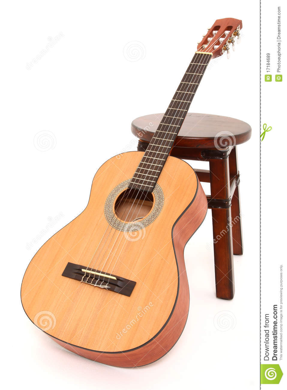 Guitare Acoustique D'enfant Image stock - Image du string ...