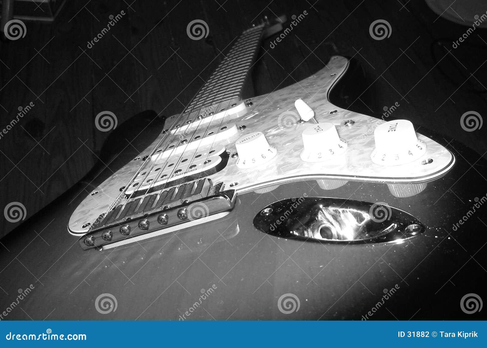 Guitare B&W