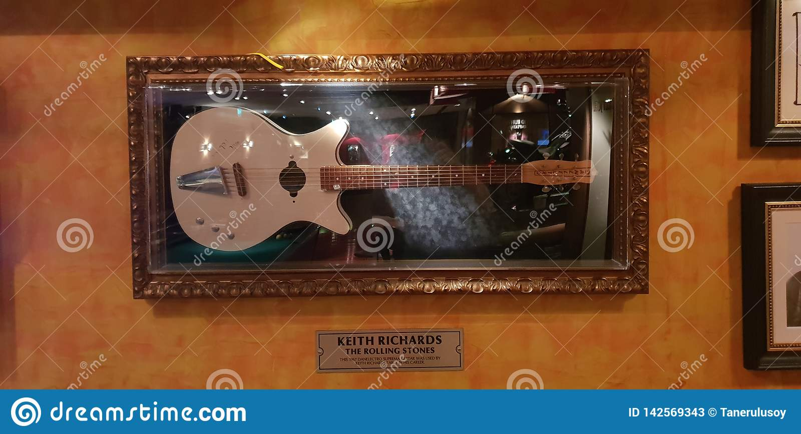 Guitare de Keith Richards