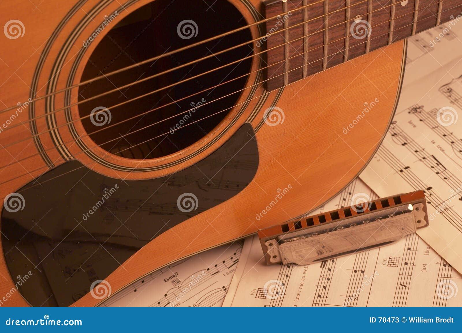 Guitare et harmonica
