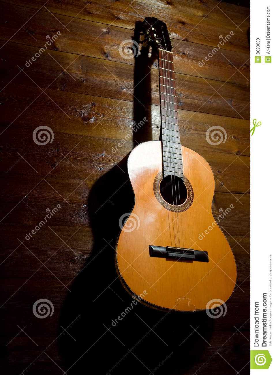 Guitare vieille