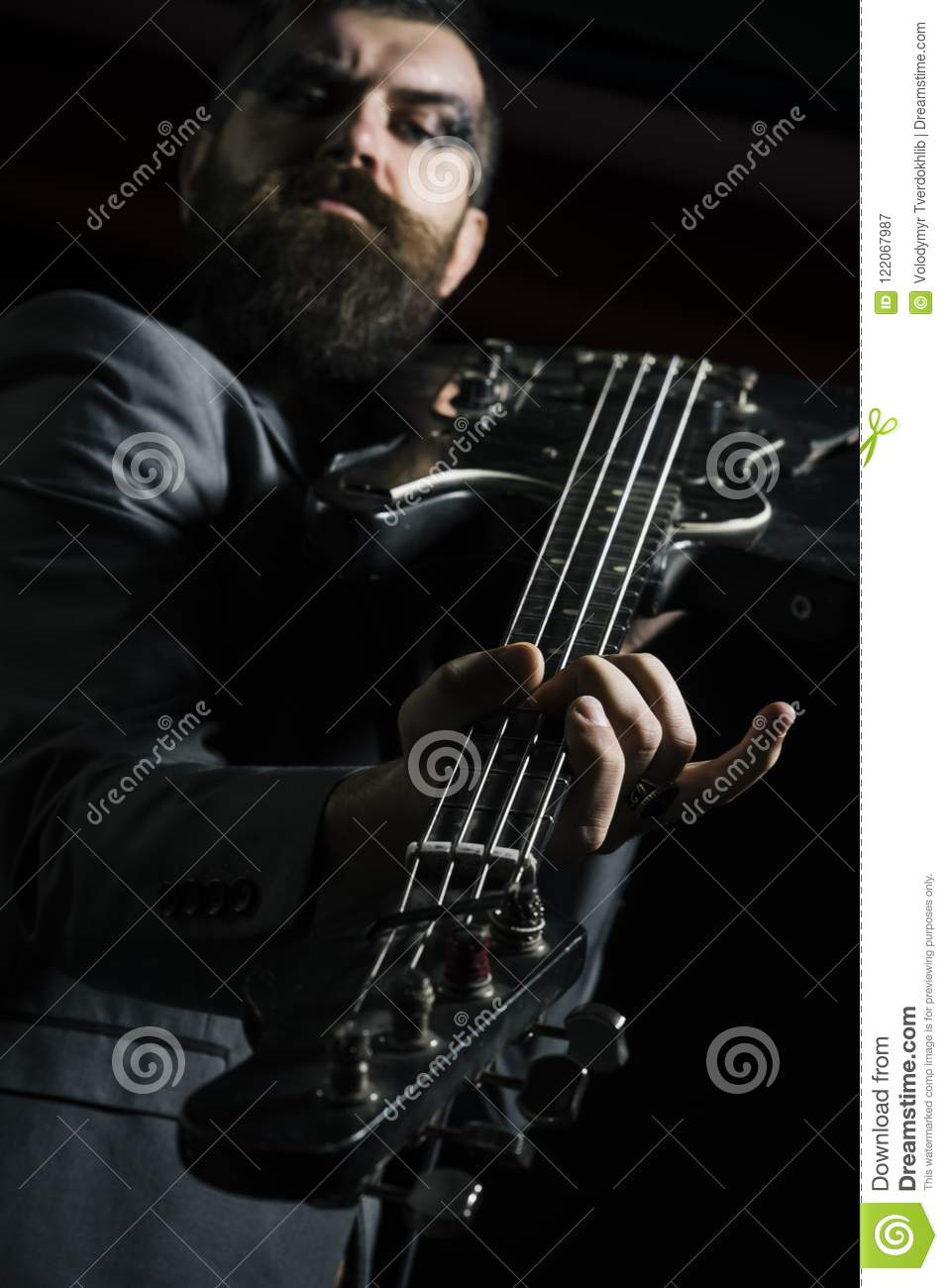 Guitarist Or Guitar Player Guitarist Play Guitar Chord Guitarist