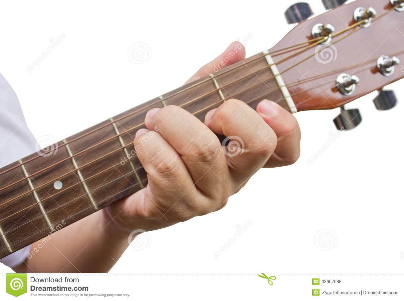 the guitarist show the f chord on the guitar royalty free stock photo image 33907985. Black Bedroom Furniture Sets. Home Design Ideas