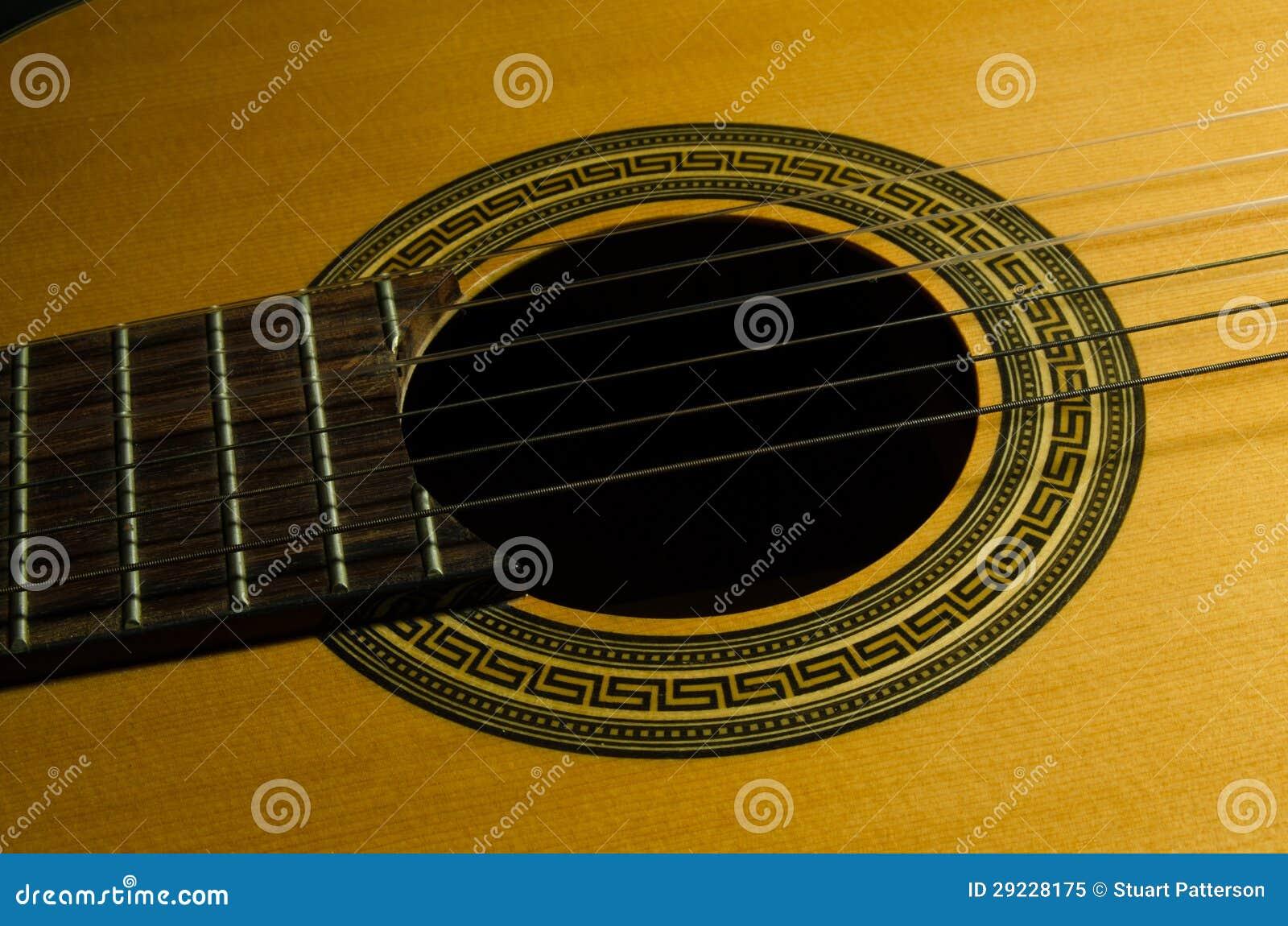 Download Guitarra acústica clássica imagem de stock. Imagem de fundo - 29228175