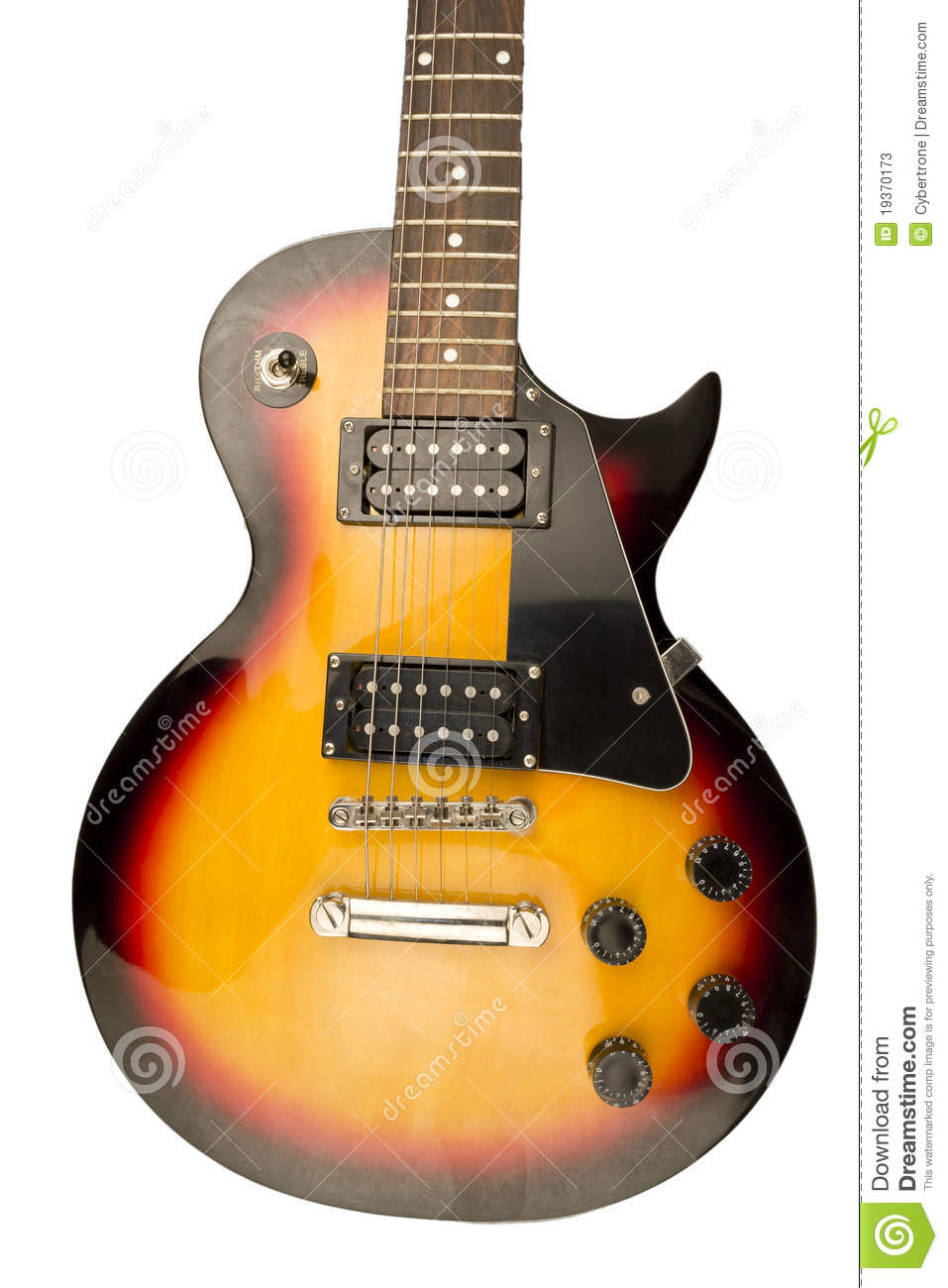 Guitarra do vintage