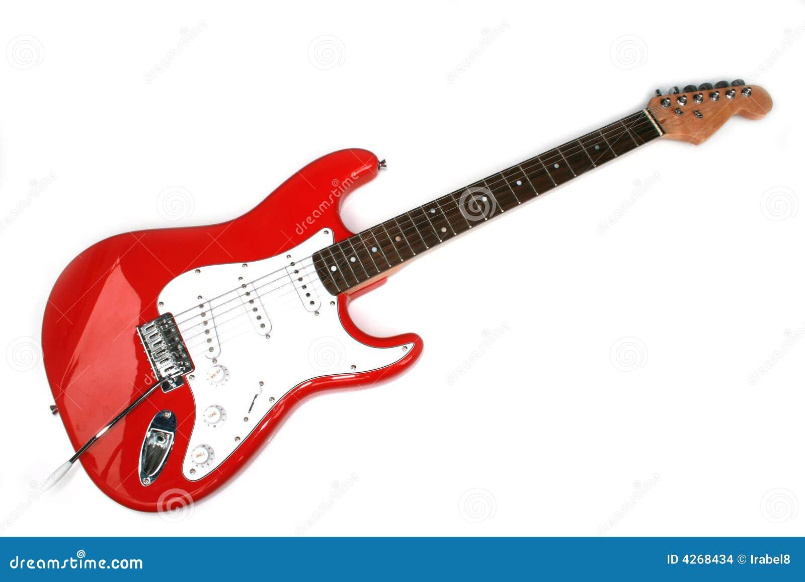 Amigurumi Guitarra Electrica : Guitarra Electrica Roja Con Seis Cadenas Imagenes de ...