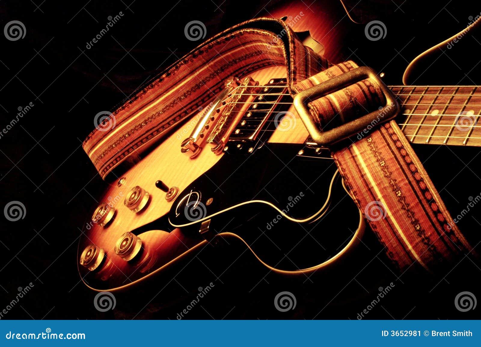 Guitarra elétrica do vintage