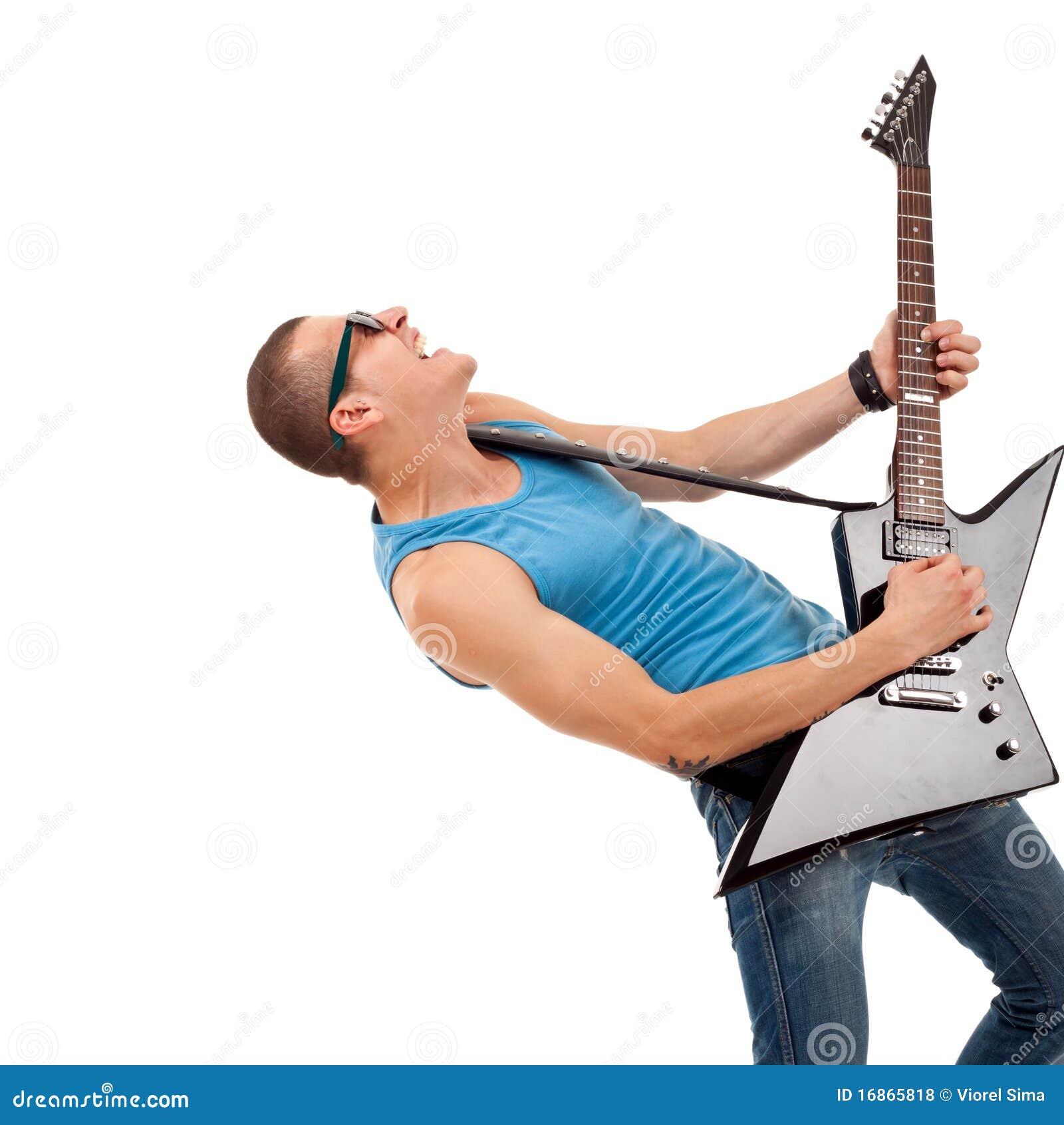 Guitarrista apaixonado