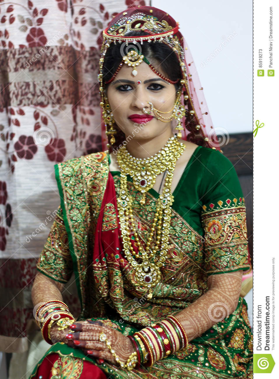 Gujarati lady