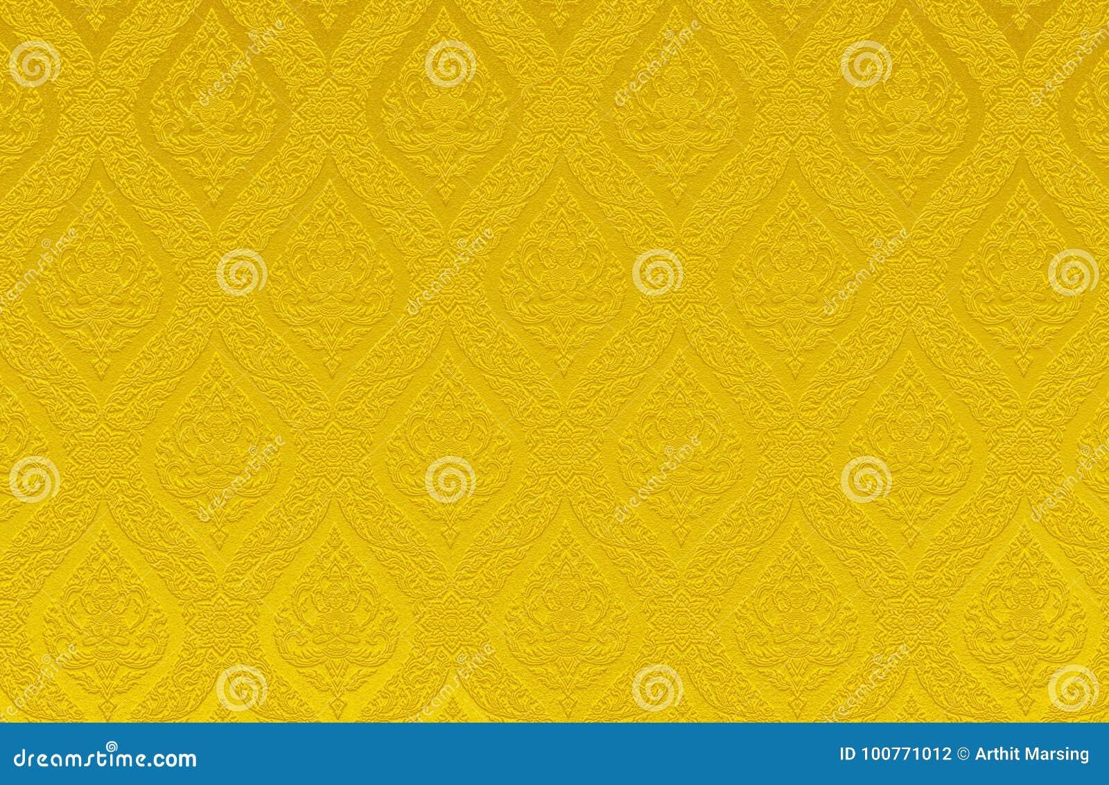Guld- bakgrund för abstrakt begrepp för färgtexturmodellen kan vara bruk som sidan för räkningen för broschyren för spararen för