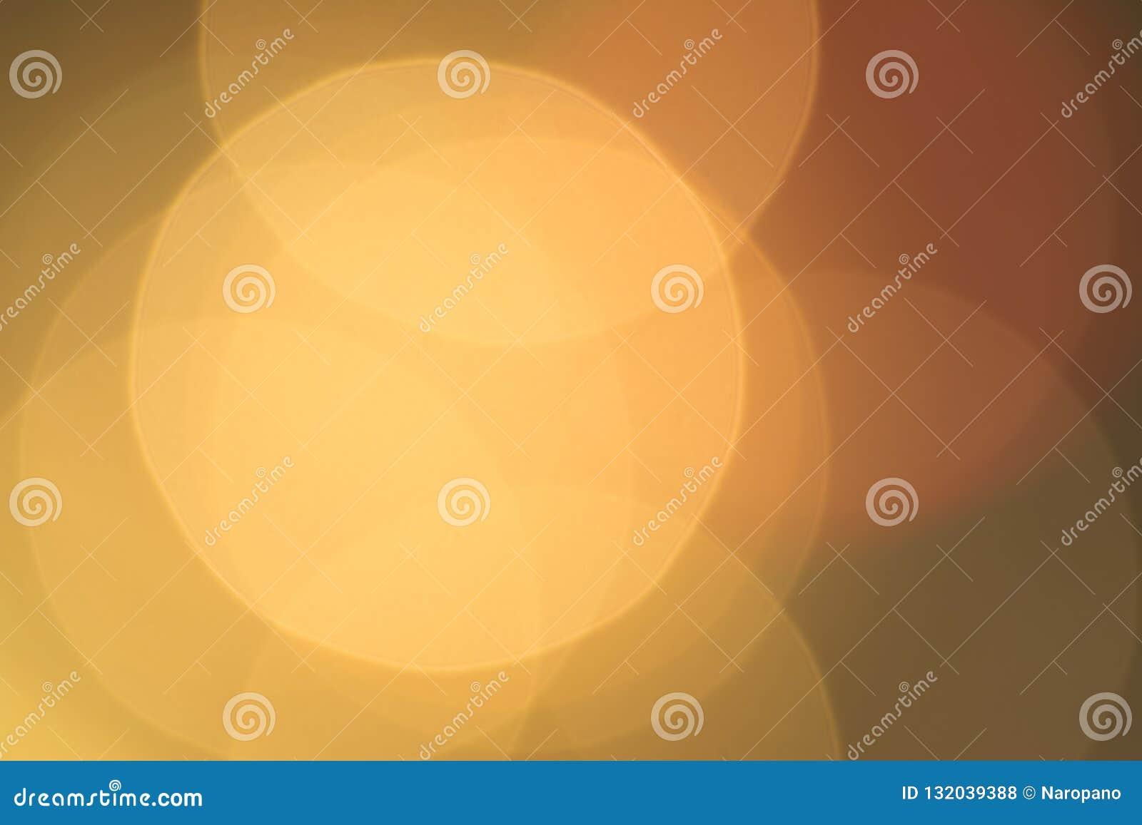 Guld- bakgrundsabstrakt begrepp, stort bokehmellanrum för design