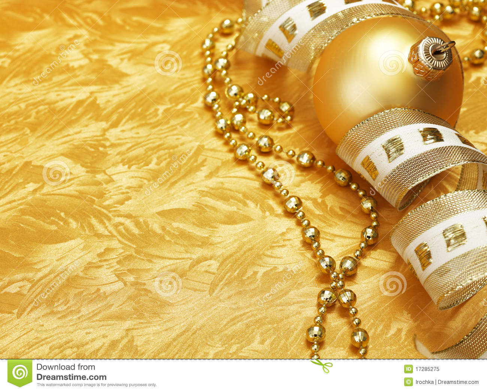 Guld- bakgrundsjul