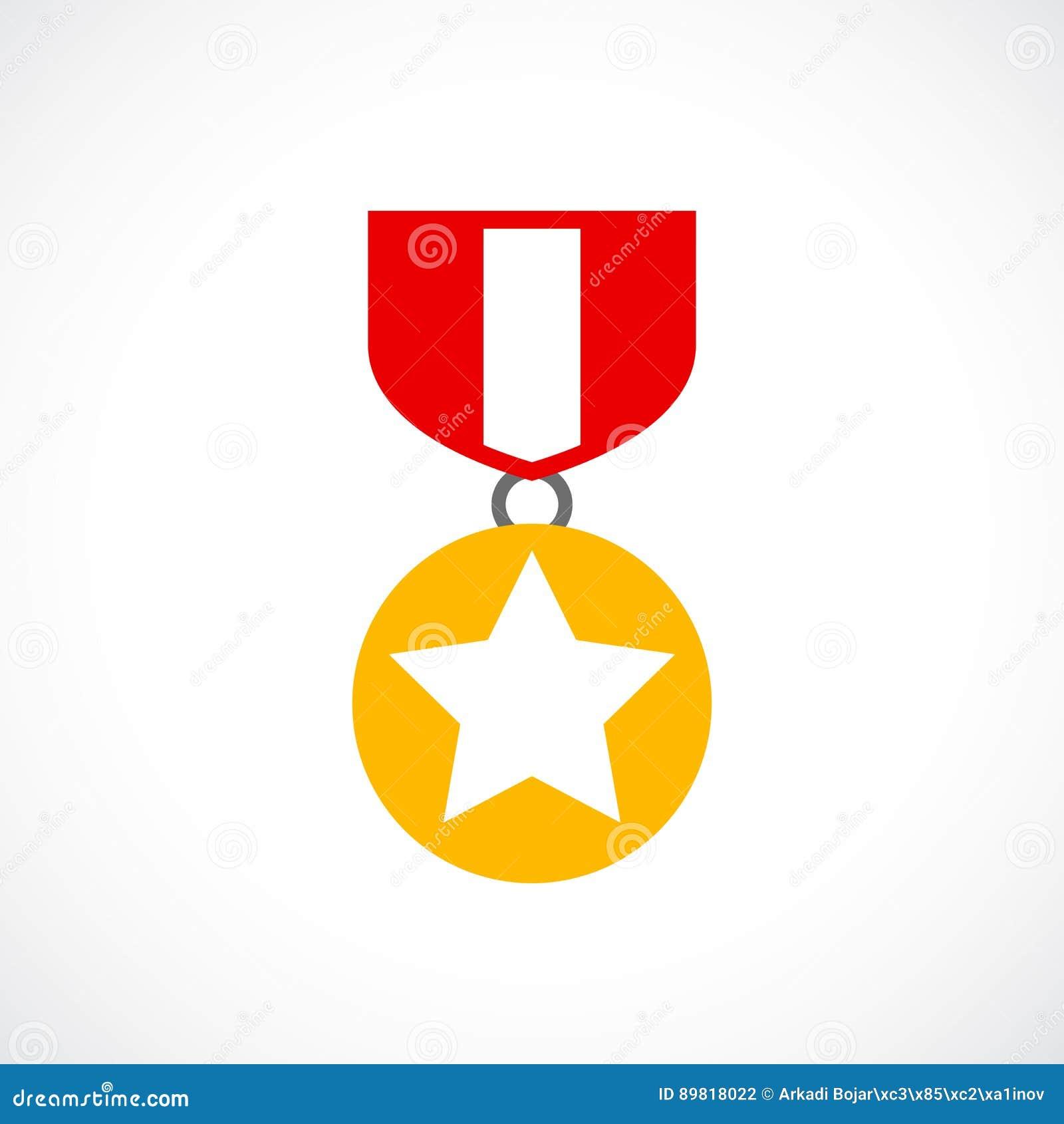 Guld- beställningssymbol för utmärkelse
