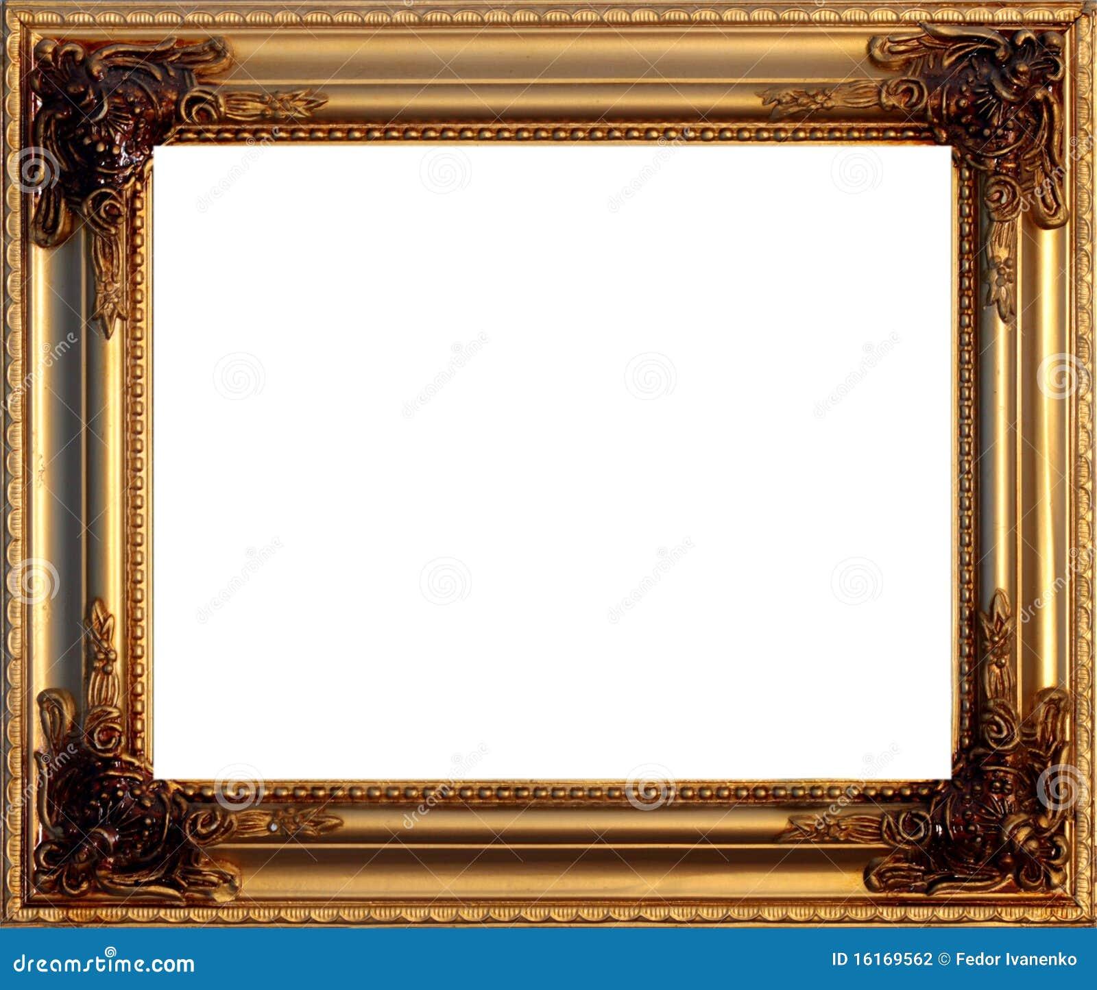 Guld- bild för ram