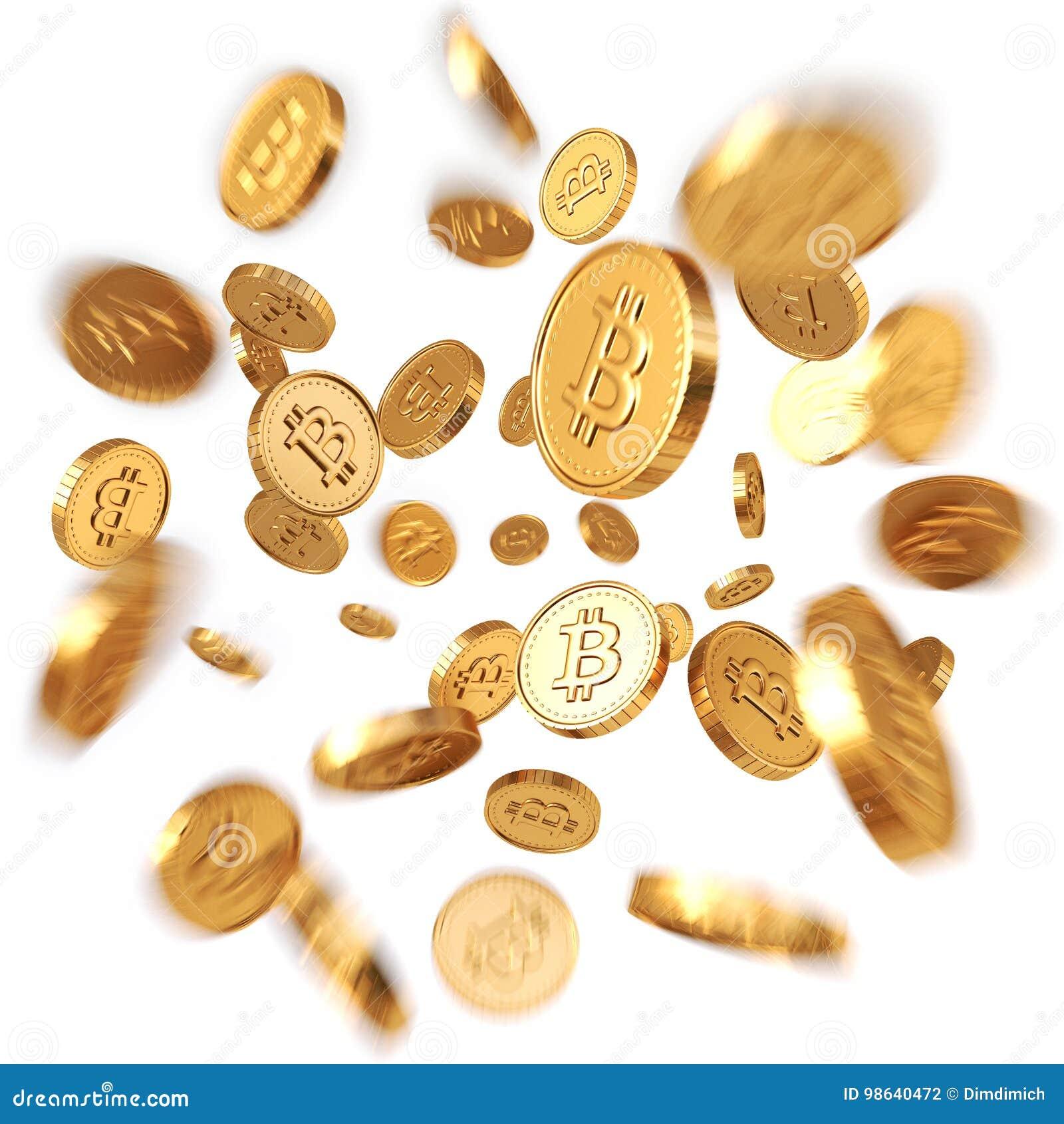 Guld- Bitcoins