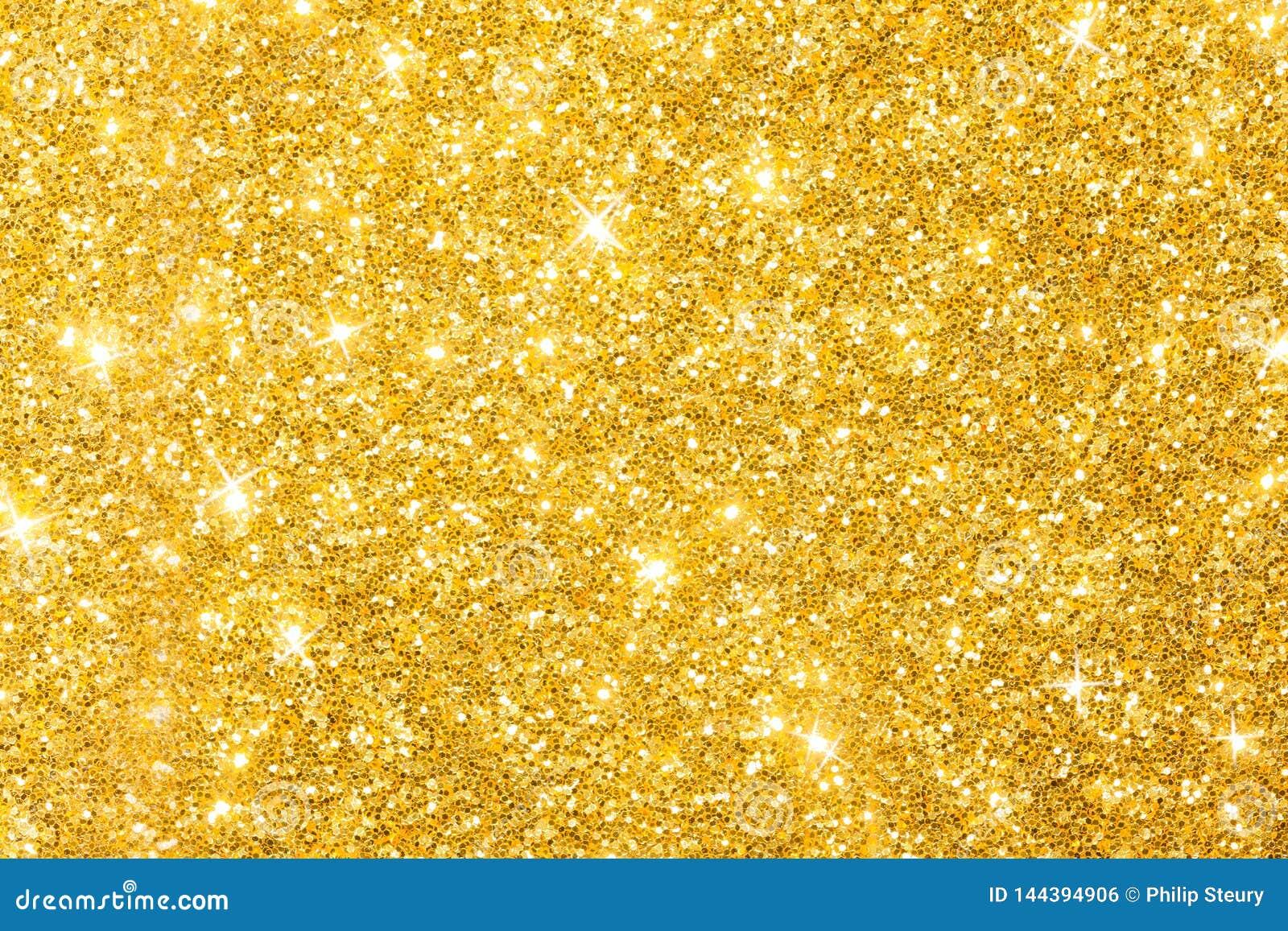 Guld- blänka bakgrundsbanret