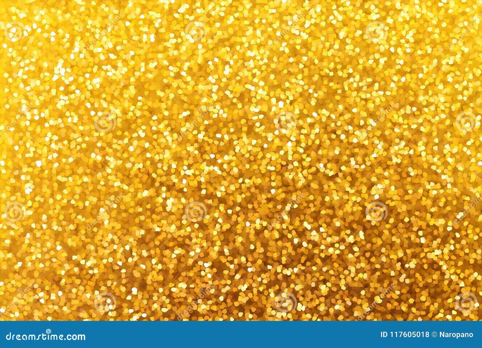 Guld- blänka jul och bakgrund för nytt år Textur för de