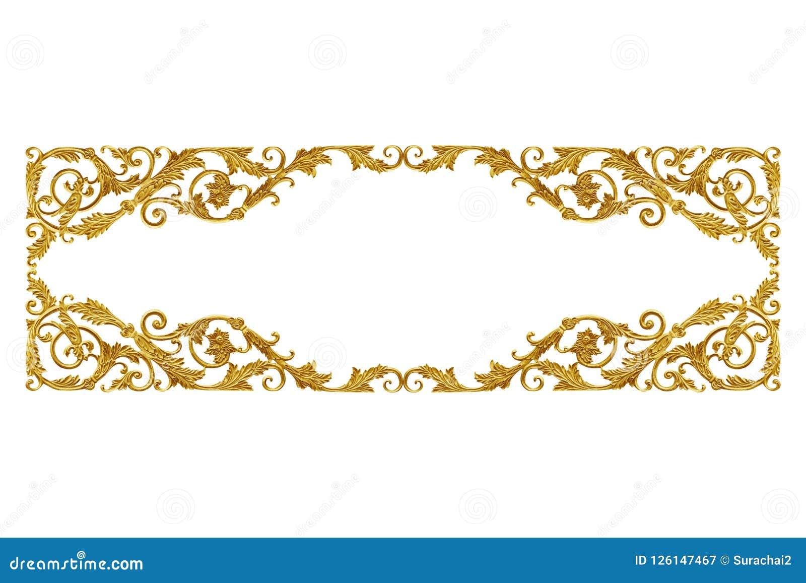 Guld- blom- för prydnadbeståndsdeltappning för garnering