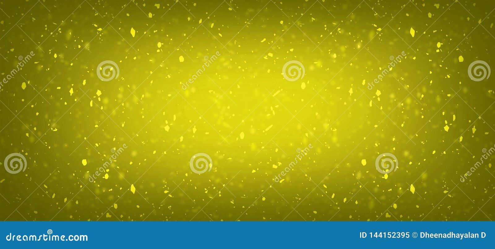 Guld- färgbakgrund med att förbluffa handlageffekter för eller smycken shoppar