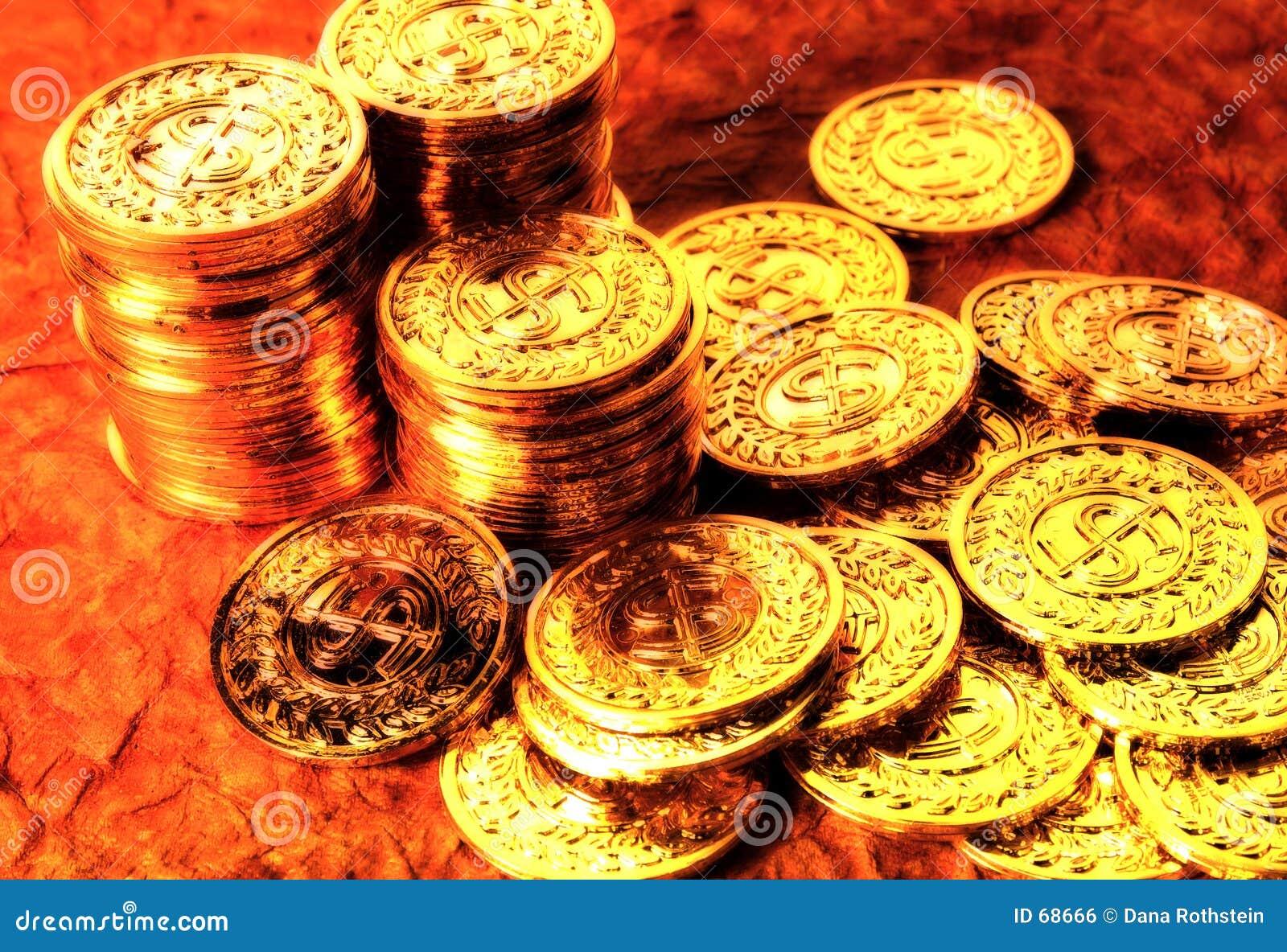 Guld för 2 mynt