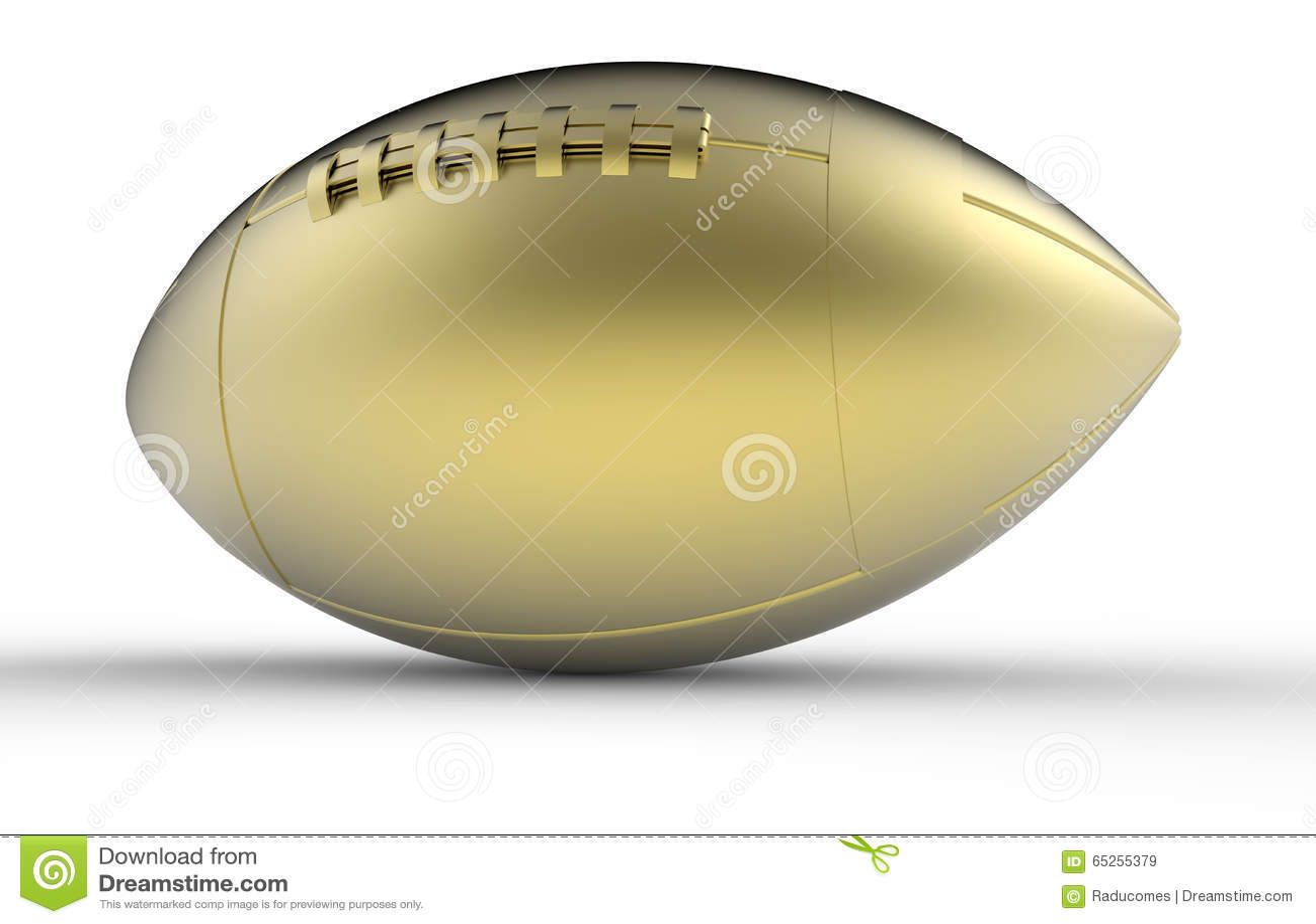 Guld- fotbolltrofé