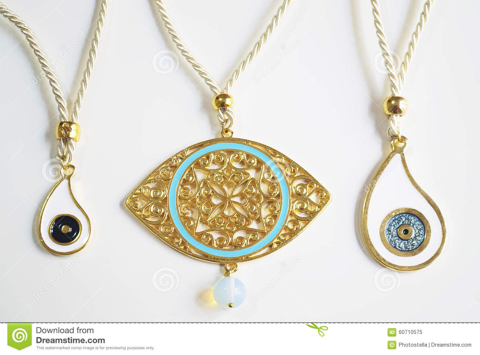 grekiskt öga smycke