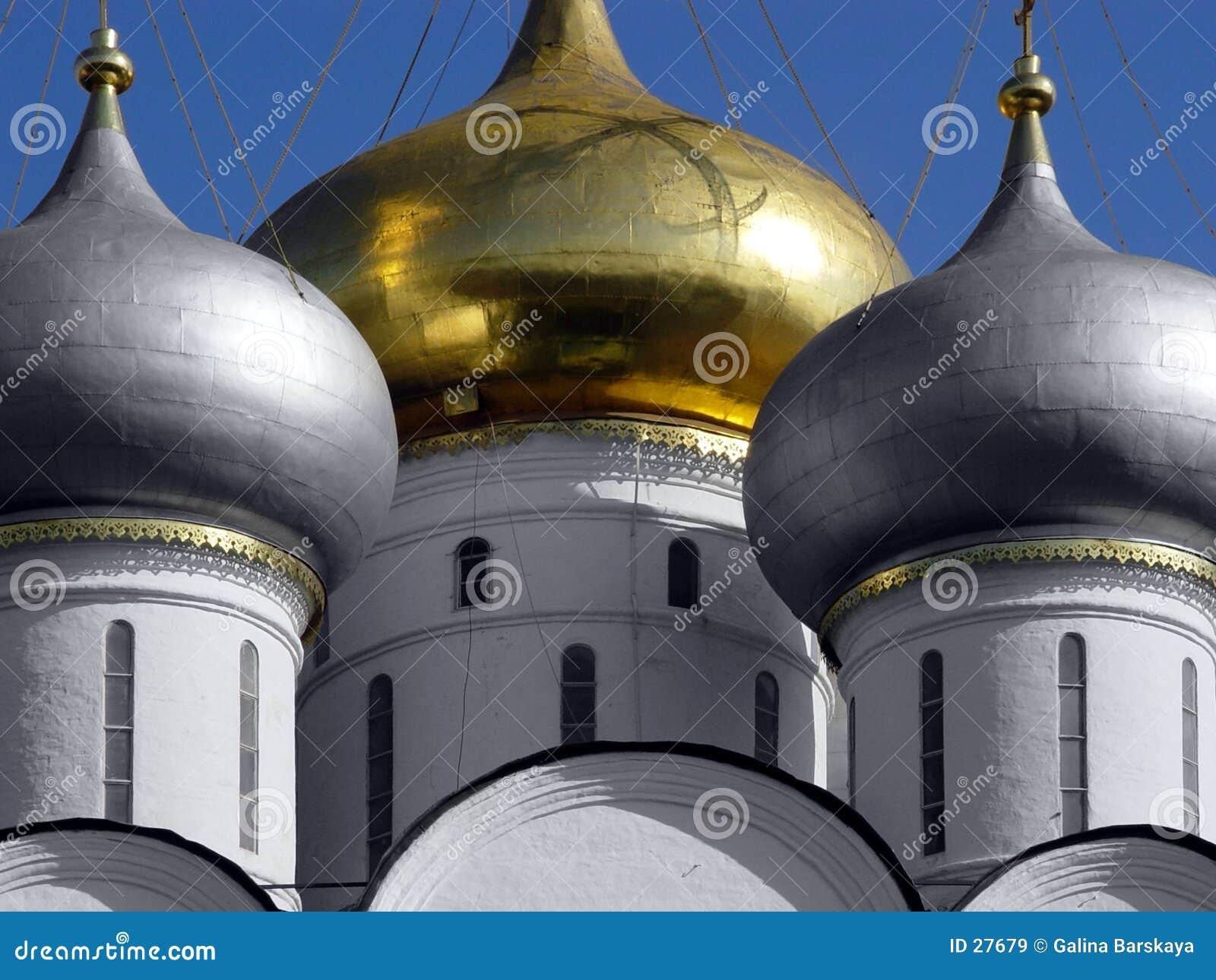 Guld- horisontal för kupol
