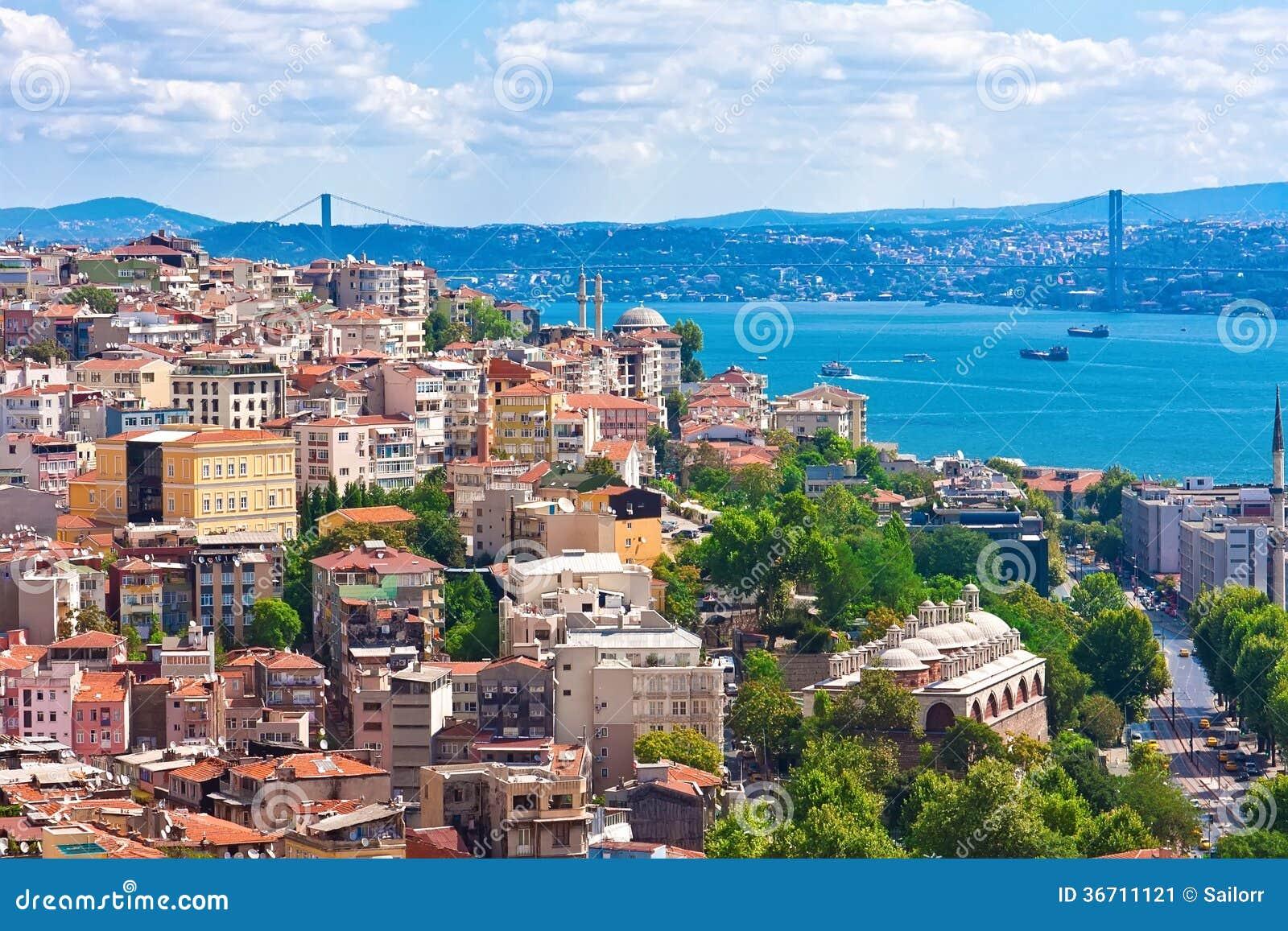 Guld- horn i Istanbul