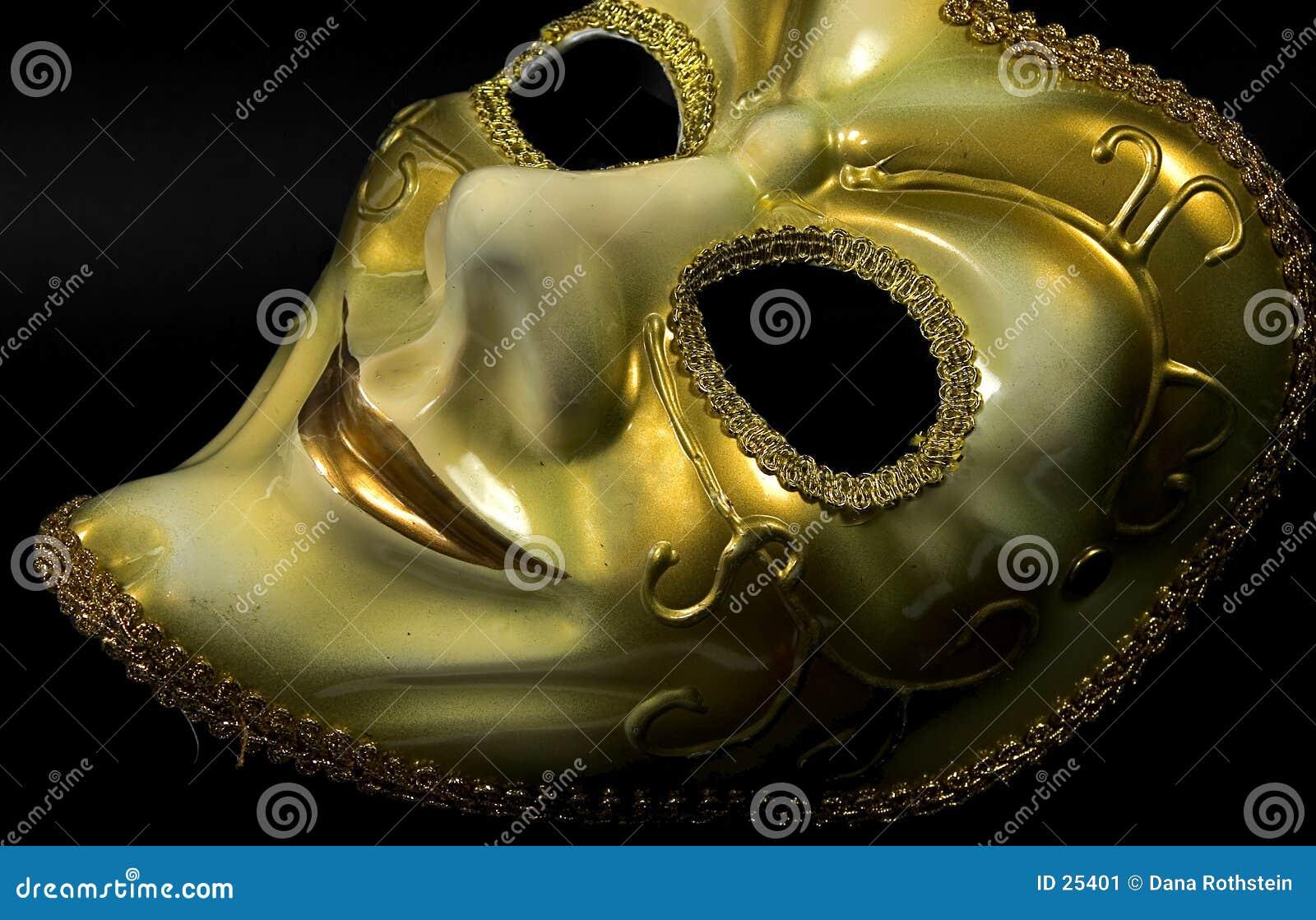 Guld- maskering