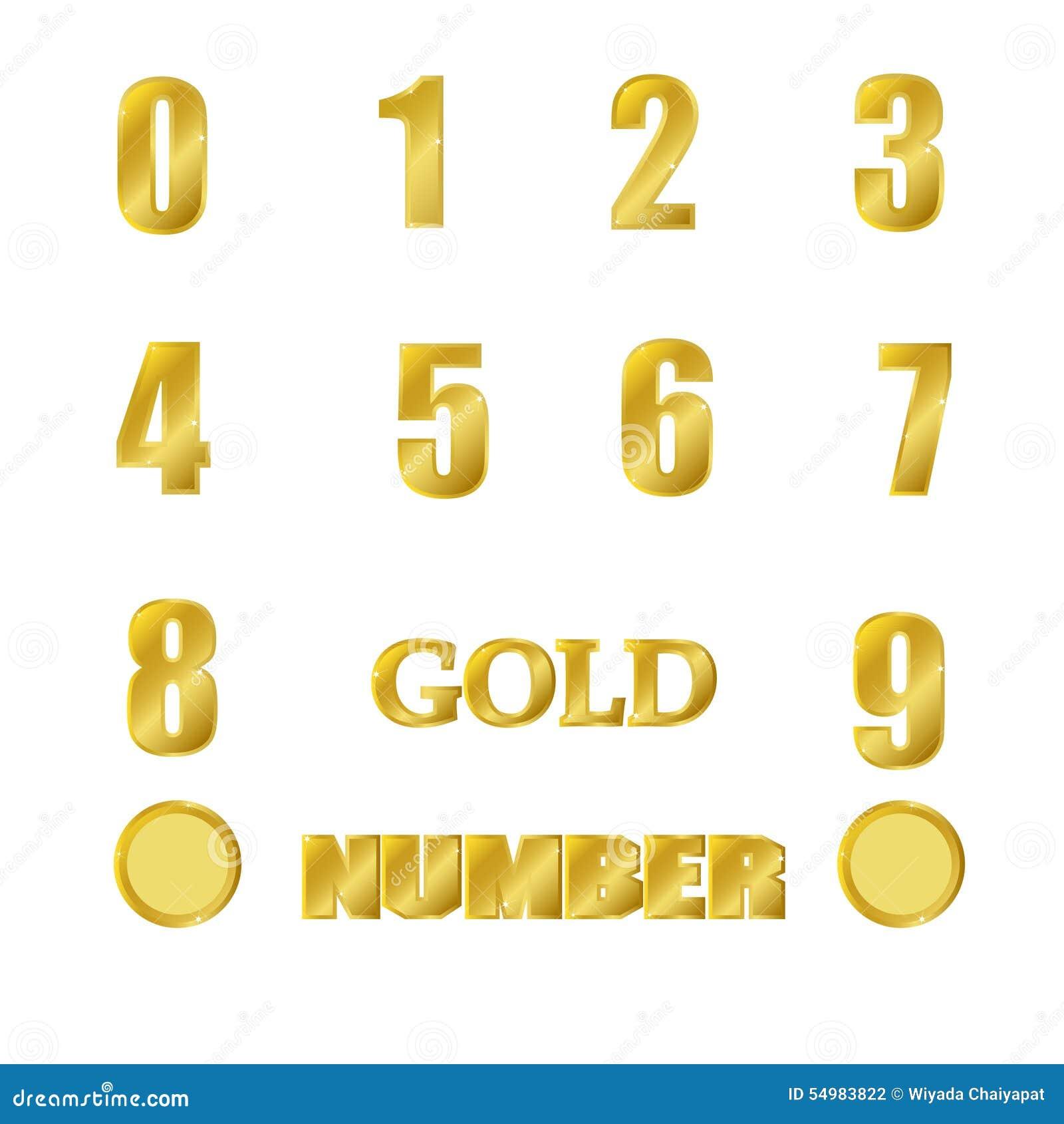 Guld- nummer