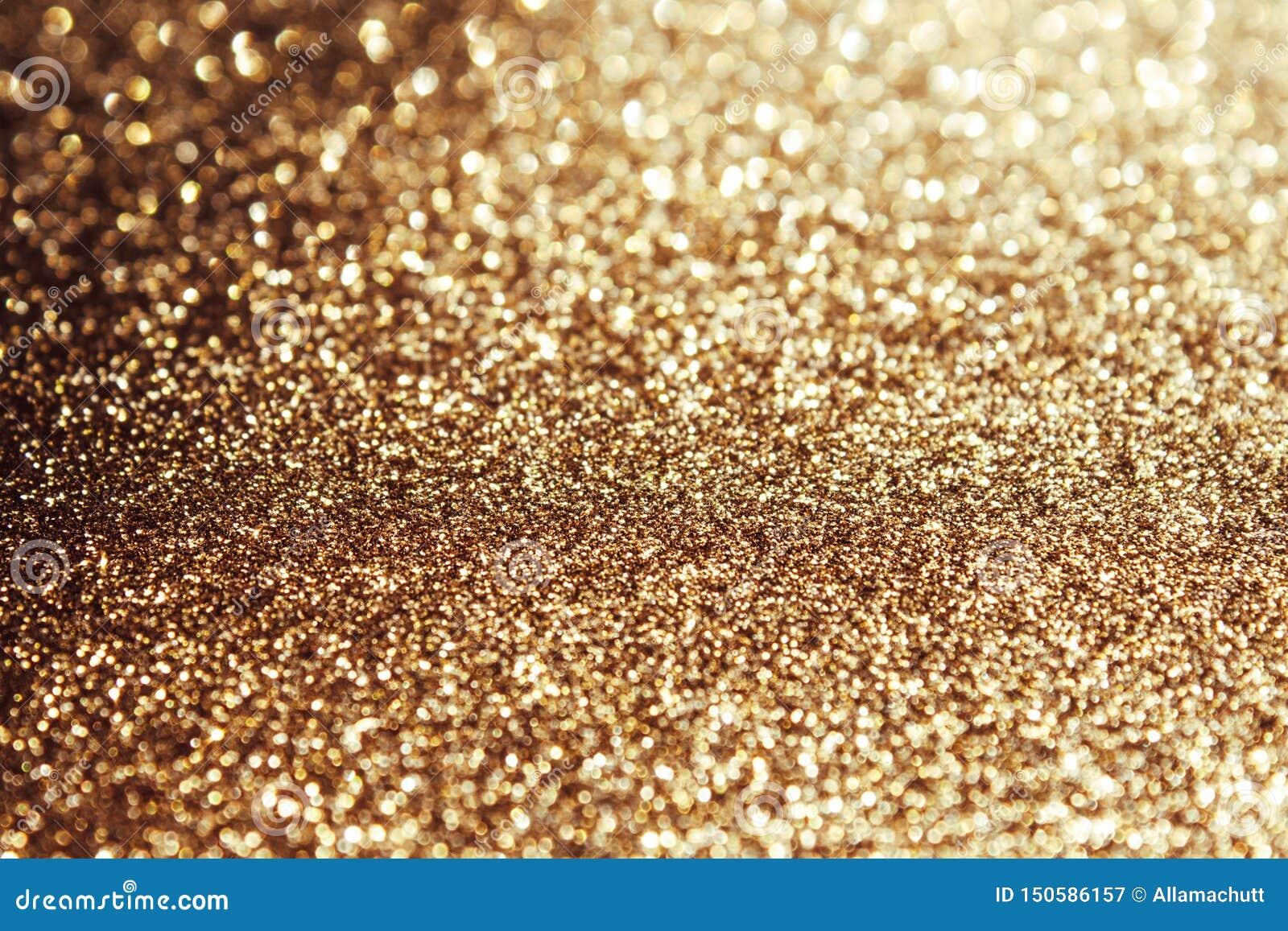 Guld- sparkling bakgrund