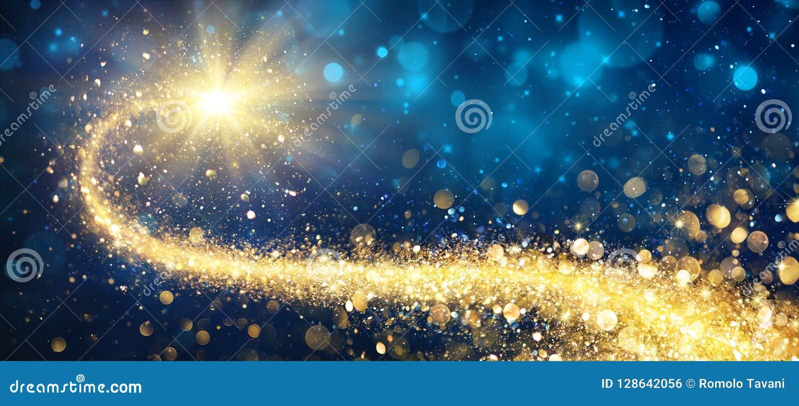 Guld- stjärna för jul