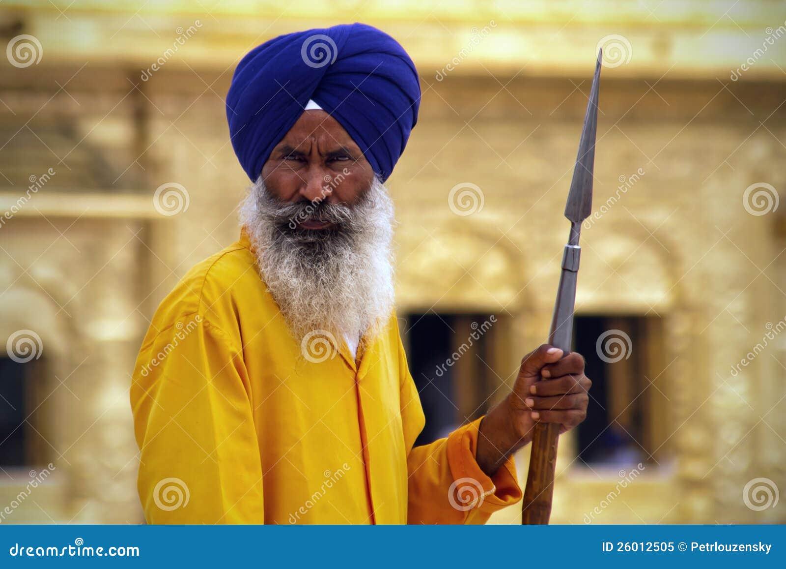 Guld- tempelguard