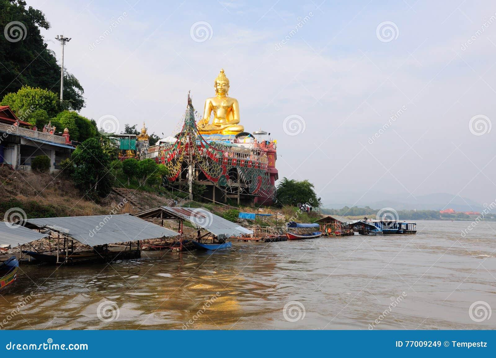 Guld- triangelBuddha Thailand