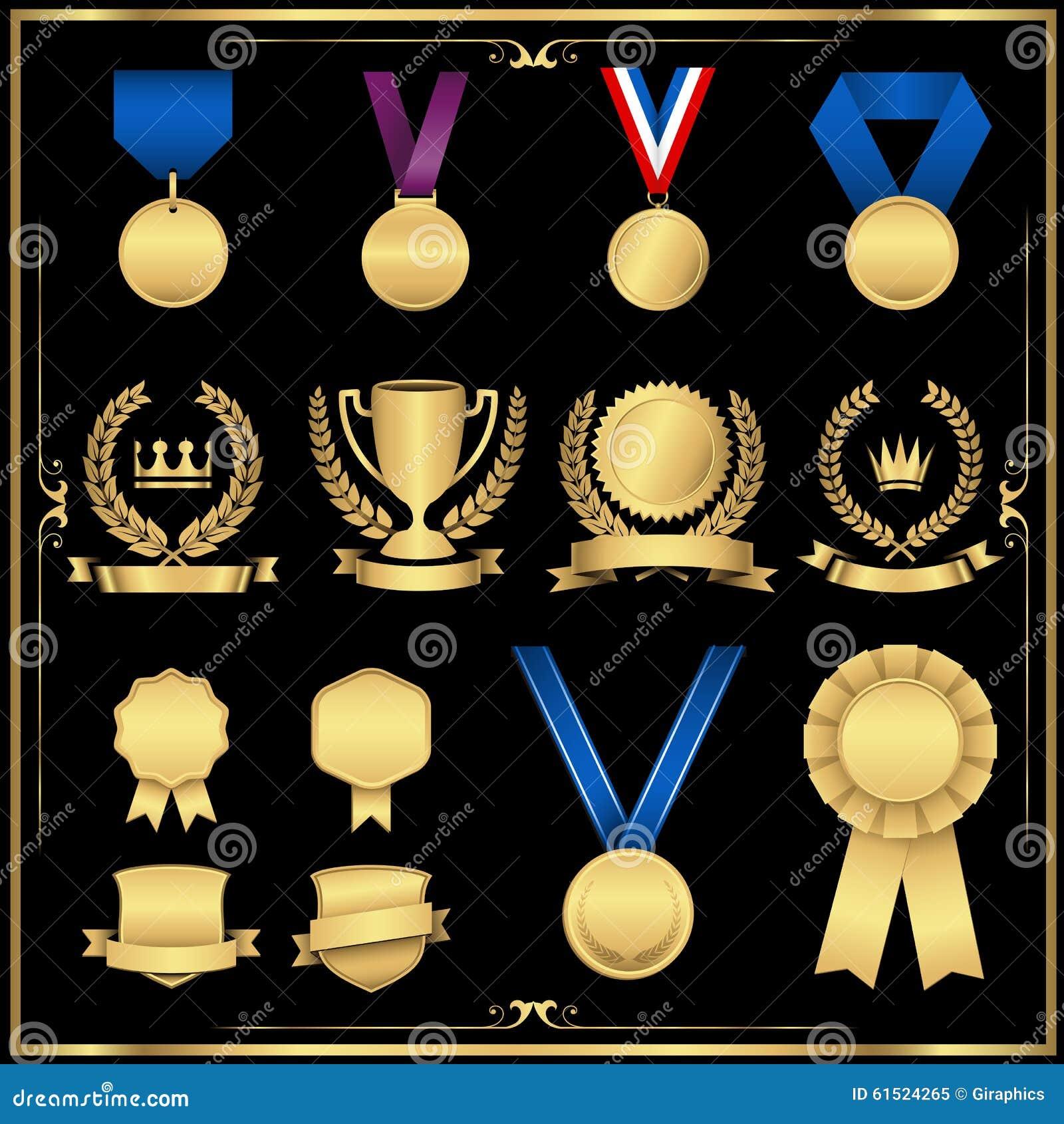 Guld- utmärkelseuppsättning