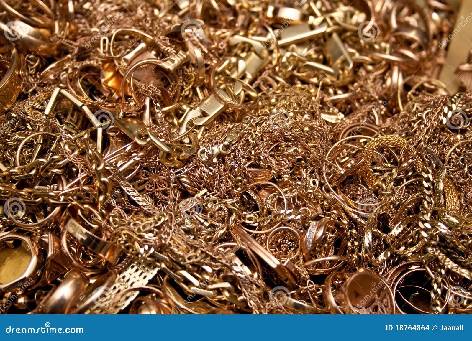 Guldsmycken