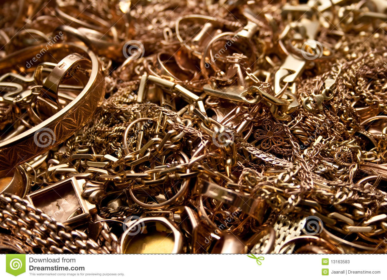 Guldsmyckenrest